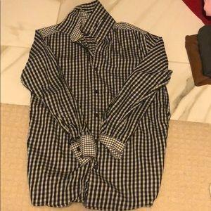 Nordstrom black and white shirt